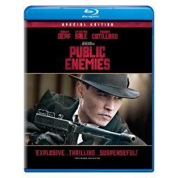 Public enemies (blu ray) (new packaging/ws) BR61118564