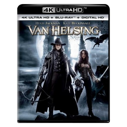 Van helsing (blu-ray/4kuhd/ultraviolet/digital hd)
