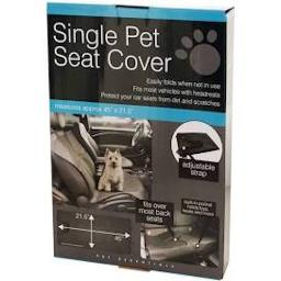Single Pet Seat Cover