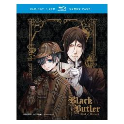Black butler-book of murder-ovas (blu ray/dvd combo) (2discs) BRFN05934