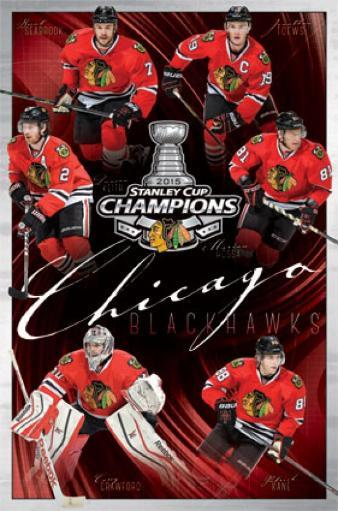 2015 Chicago Blackhawks Stanley Cup - Champs Poster Print 1585267