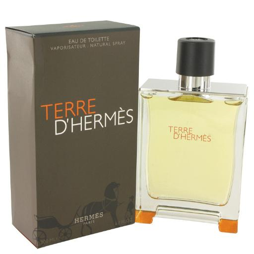 3 Pack Terre D'Hermes by Hermes Eau De Toilette Spray 6.7 oz for Men Hermes Terre D'Hermes harkens to the scent of a natural man living in splendor. This elegant fragrance debuted on the market in 2006 and quickly defined itself as a leading industry standard. We are pleased to sell Hermes Terre d'Hermes products, including Terre d'Hermes cologne.
