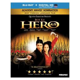 Hero (blu ray) (ws/chinese/cantonese/5.1 dts-hd/uv digital copy) BR30462
