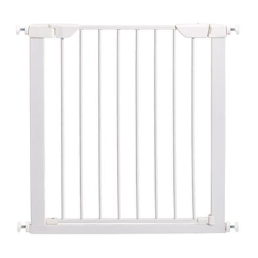 Animal Supply Company MW01943 Midwest Steel Pressure Mount Pet Gate - White