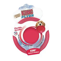 KONG COMPANY KONG RUBBER FLYER LARGE RED 269299