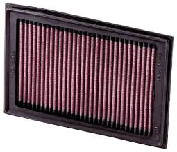 K&N High Flow Replacement Air Filter - Black KA-2508