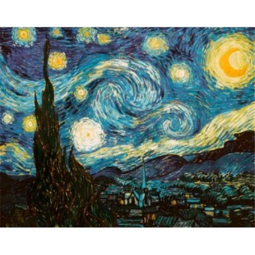 Posterazzi SAL900108004 Starry Night 1889 Vincent Van Gogh 1853-1890 Dutch Oil on Canvas Poster Print - 18 x 24 in.