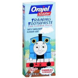 Orajel Toddler Training Toothpaste Thomas and Friends Tooty Fruity Flavor