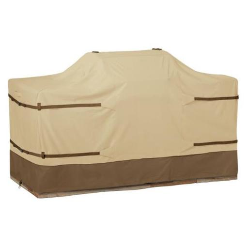 Classic Accessories 55-629-041501-00 Large Island Grill Cover, Pebble