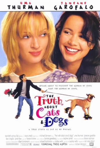 The Truth about Cats and Dogs Movie Poster Print (27 x 40) UUE3YFAMXSGO8RYM