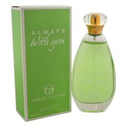Always With You By Sergio Tacchini For Women - 3.3 Oz Edt Spray  3.3 Oz