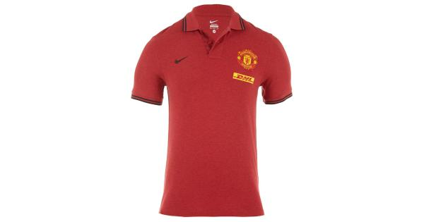6f0fa8cc478 nike manchester united gs polo shirt with dhl mens style   478175