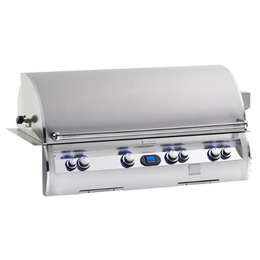 Fire Magic E1060I-4E1N-W FireMagic Echelon Built In Natural Gas Grill with Hot Surface Ignition a Rotisserie Backburner and Cast E Burners and Magic V PJXZMDDGDG4JYTHM