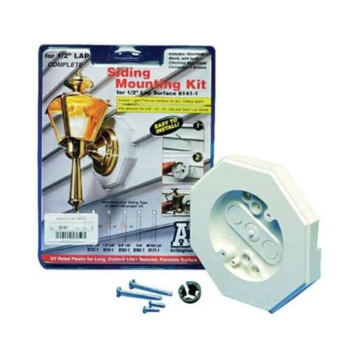 Arlington Industries 8151-1 0.63 in. Lap Siding Mounting Kit