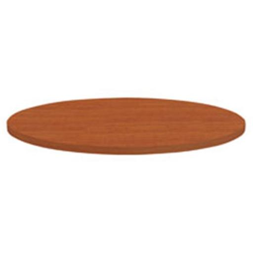 Lorell LLR62573 Hospitality Table Cherry Laminate Round Tabletop