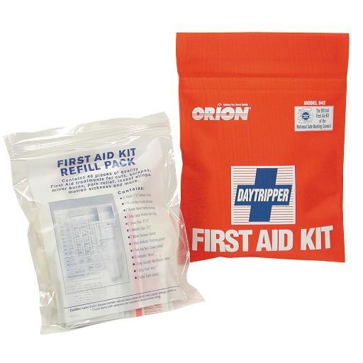Orion safety products orion daytripper first aid kit soft case 942