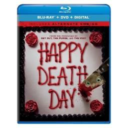 Happy death day (blu ray/dvd w/digital) (2discs) BR61193267