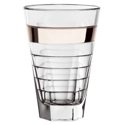 Majestic Gifts E64430 Hiball Glass With Platinum Band WQYFFCME8RHT5ZZX