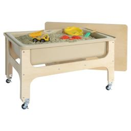Wood Designs 11875TN Tot Size Deluxe Sand & Water Table with Lid