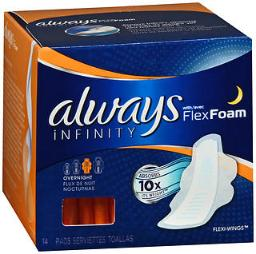 always-infinity-flexi-wings-pads-overnight-14-each-pack-of-4-7655929340ce9b63