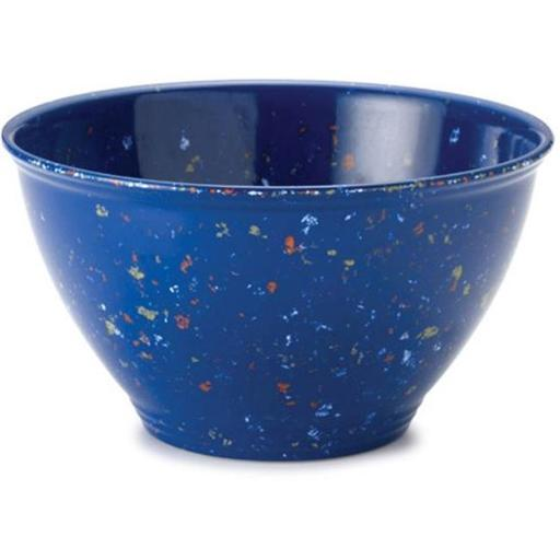 Rachael Ray 56661 Garbage Bowl with Rubber Foot - Blue - Blue