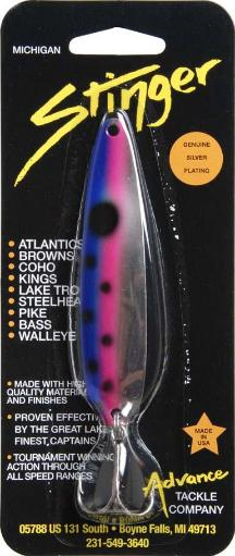 Advance tackle co. rs9 sting spoon 3.75 rnbw trout