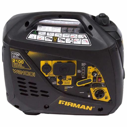 Firman Generators FMNW01781 2100-1700W Power Equipment Gas Powered Extended Run Time Inverter Generator