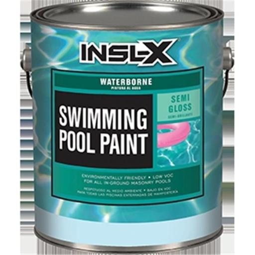 Insl-x Products WR 1024 Royal Blue Waterborne Pool Paint - 1 Gallon