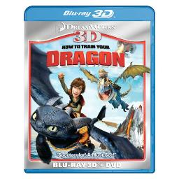 How to train your dragon 3d combo pack (blu ray/dvd/2 disc) 3-d BR101027
