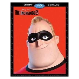 Incredibles (blu-ray/digital hd/2 disc/re-pkgd) BR135235
