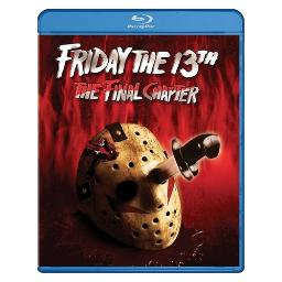 Friday the 13th-final chapter (blu ray) (ws/5.1 dts-hd) BR59191731