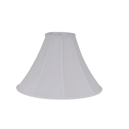 Living Accents 17620-000 Bell Shaped Silk Lamp Shade Ivory - pack of 3