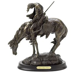 Koehler Home Decorative The End of the Trail Horse Figurine