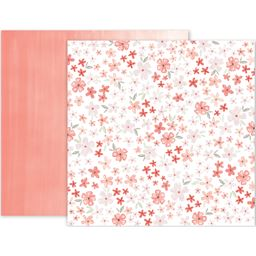 American Craft Pk Paislee Take Me Away Collection 12 X 12 Double Sided Paper 17