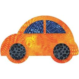 Go! Fabric Cutting Dies-Cute Car 5-1/2x3-3/8