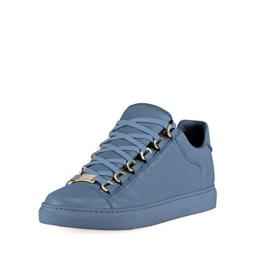 Balenciaga Crinkled Leather Lace-up Sneaker 41