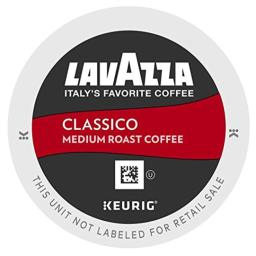 Lavazza K-Cup Portion Pack for Keurig Brewers, Classico, 24 Count