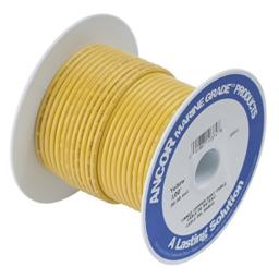 Ancor 111902 Marine Grade Electrical Tinned Copper Battery Cable (8-Gauge, Yellow, 25-Feet)