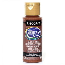 DecoArt Americana Acrylic Paint, 2-Ounce, Light Cinnamon