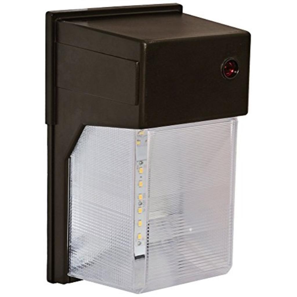 Amax Lighting LED-SL27BZ LED Security Light Wall Pack, 27W, Bronze