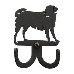 2.25 Inch Dog Double Wall Hook