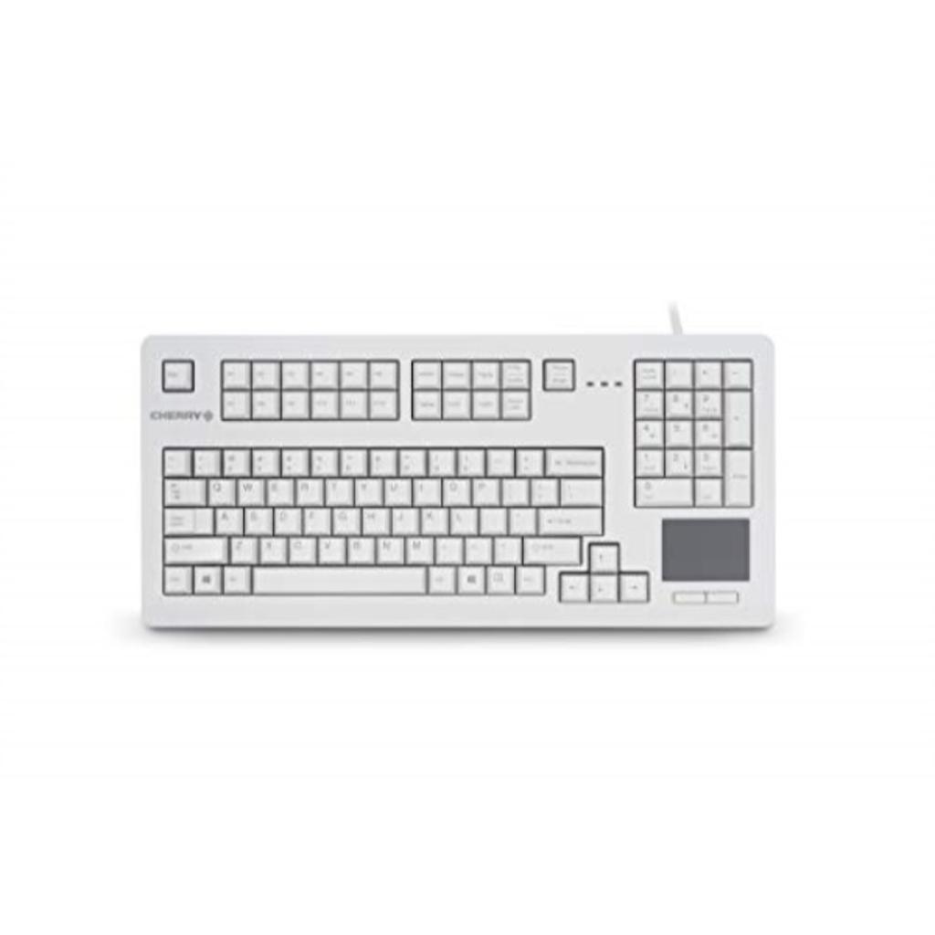 CHERRY G80 TouchBoard, Light Grey - 104 Keys