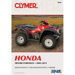 Clymer Service Manual for 05-11 Honda TRX500FORE