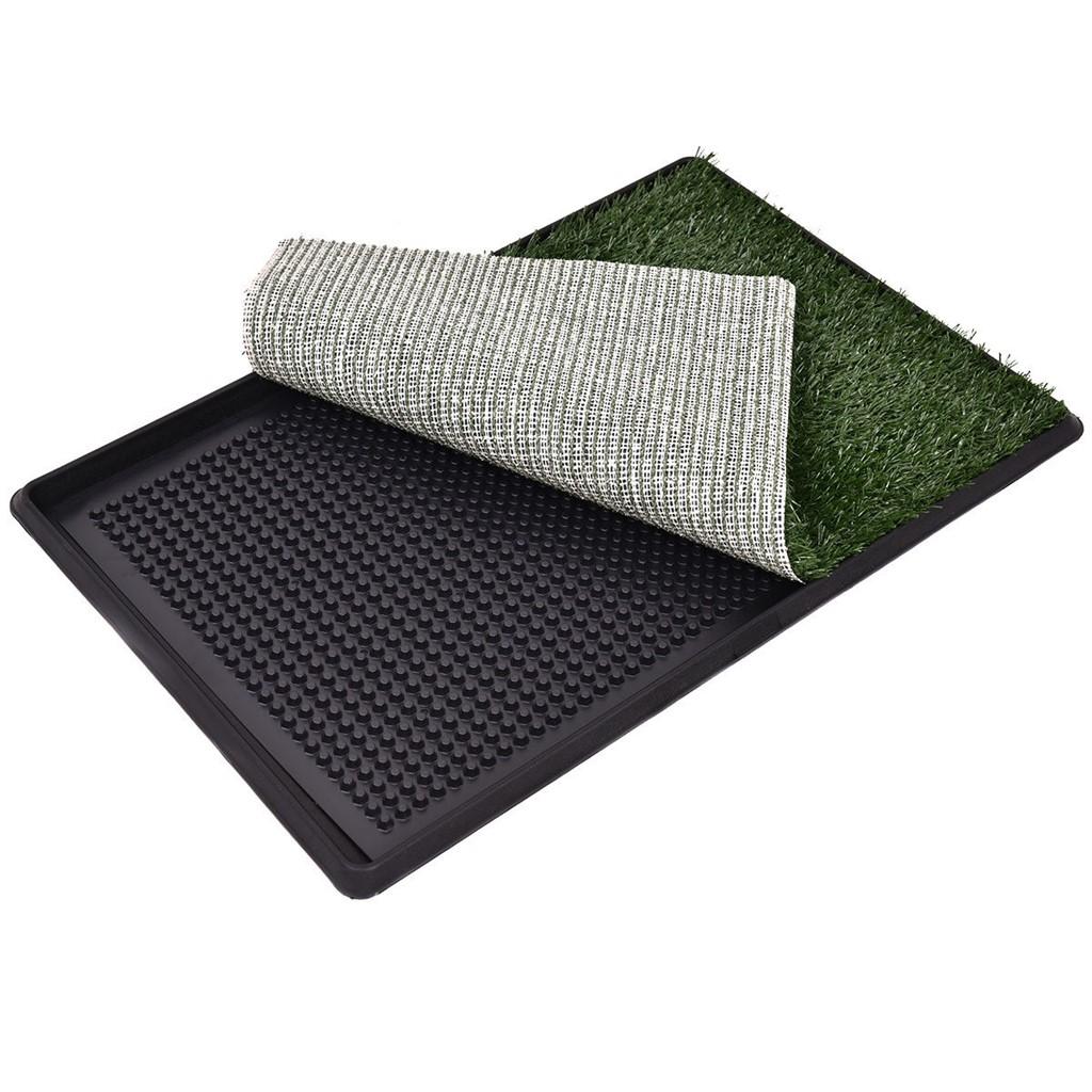 "30 x 20"" Pet Potty Training Toilet Grass Mat"""