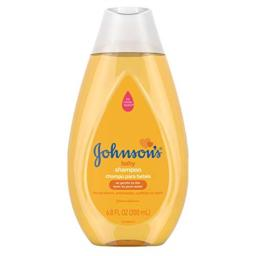 Johnson's Tear Free Gentle Baby Shampoo, Free of Parabens, Phthalates, Sulfates and Dyes, 6.8 fl. oz