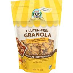 Bakery on Main Gluten Free Non GMO Granola, Tropical Nutty Banana, 11 Ounce
