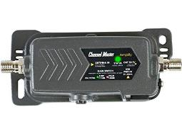 Channel Master CM-7777HD Amplify Adjustable Gain TV Antenna Preamplifier with LTE Filter   Indoor/Outdoor