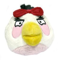 Angry Birds Plush 5-Inch girl White Bird with Sound