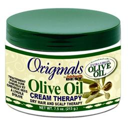 Africas Best Orig Olive Oil Cream Therapy 7.5 Ounce Jar (221ml) (6 Pack)