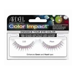 Ardell 110 Color Impact Lashes, Plum
